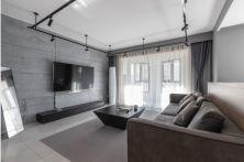 典丽矞皇客厅装饰实景图