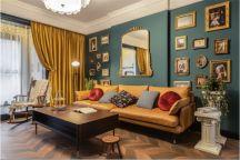 2021复古客厅装修设计 2021复古沙发装修设计