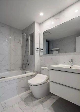 纯净白色客厅装修案例