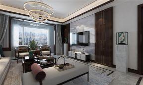 新古典客厅背景墙家装设计