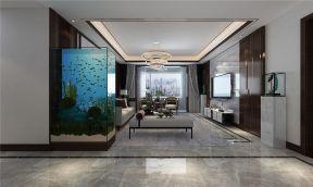 舒适白色客厅设计效果图