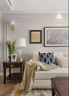 2021美式客厅装修设计 2021美式沙发装修图