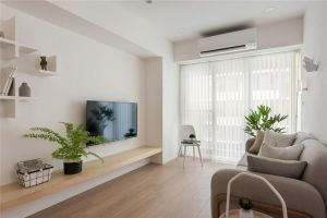 2021现代客厅装修设计 2021现代电视背景墙图片