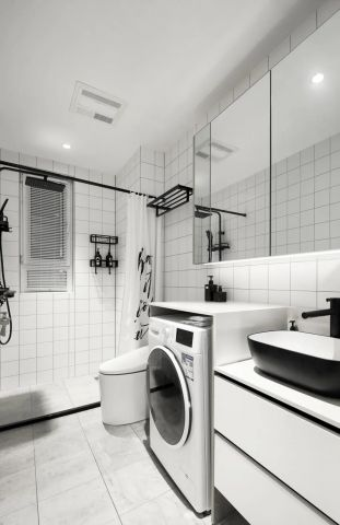 奢华卫生间隔断设计方案