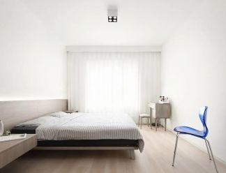 干净白色卧室图片
