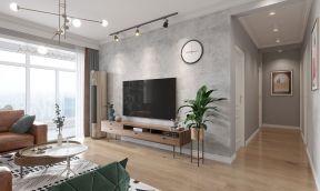 2021北欧客厅装修设计 2021北欧走廊装修效果图大全