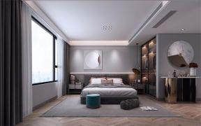 客厅原木色地板装饰实景图