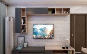 2021简约客厅装修设计 2021简约电视背景墙装修设计图片