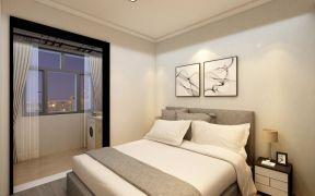 优雅卧室背景墙装饰图