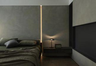 美好灰色卧室装修效果图欣赏