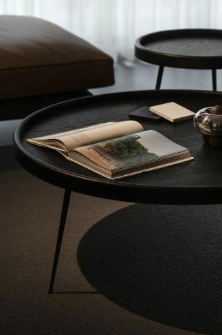 高贵风雅灰色茶几装潢实景图片