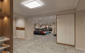 2021混搭客厅装修设计 2021混搭隐形门装修效果图片