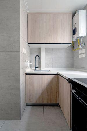 北欧厨房橱柜室内装修图片