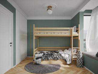 2021北歐110平米裝修設計 2021北歐套房設計圖片