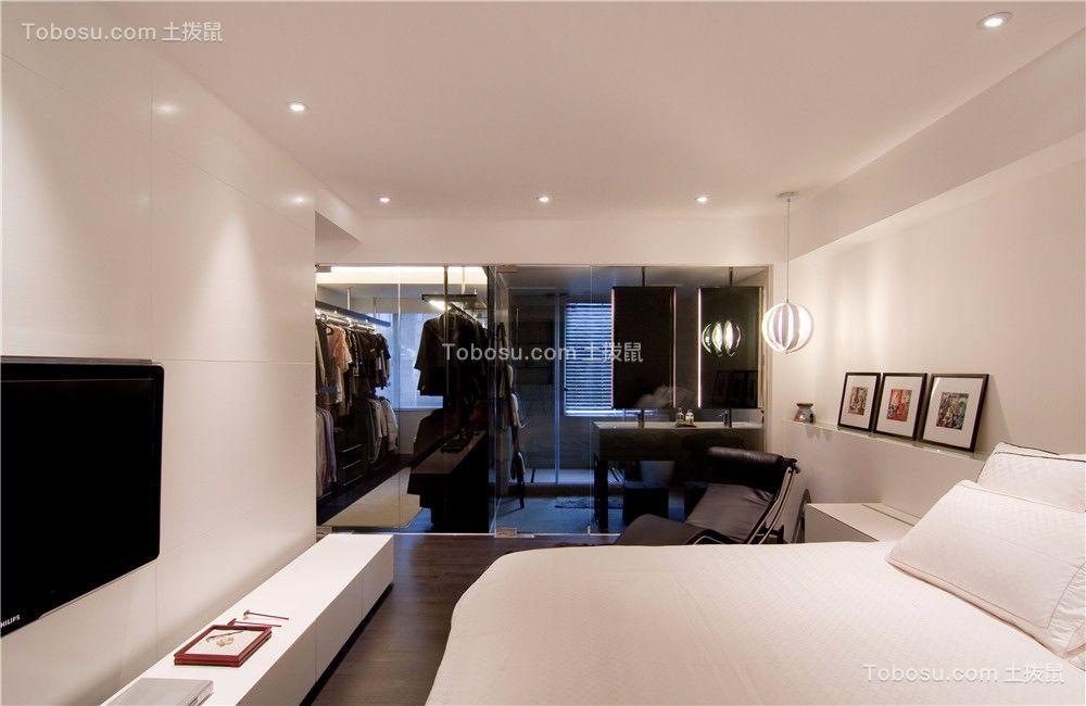 华润国际110平米现代风格三居室装修效果图