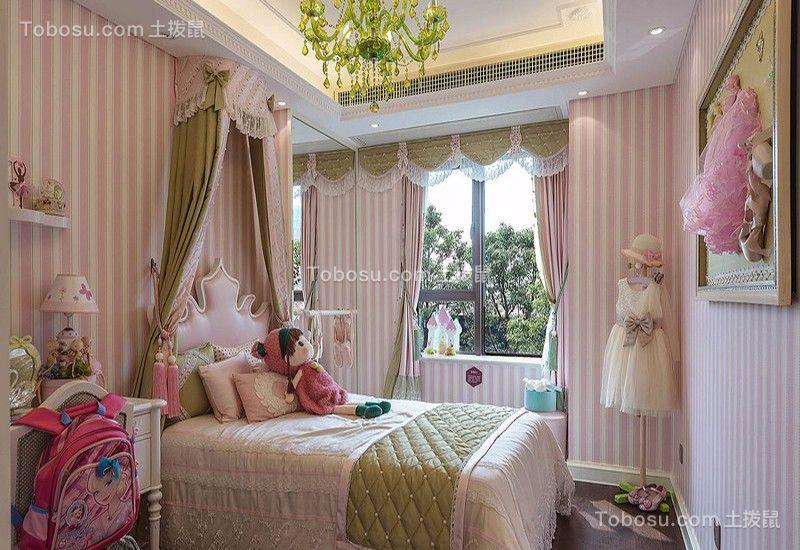卧室 床_湘江世纪城130平三居室法式装修效果图