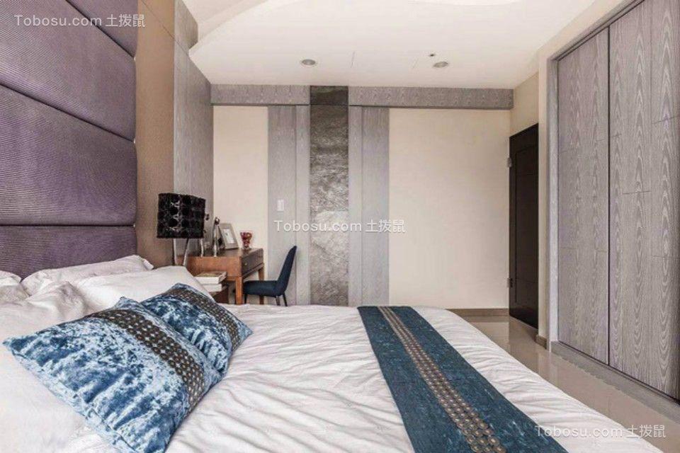 卧室灰色细节现代简约风格效果图