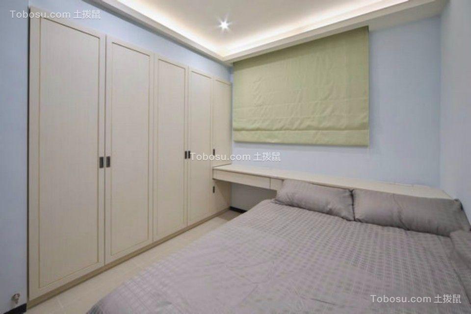 2019中式卧室装修设计图片 2019中式隐形门装饰设计