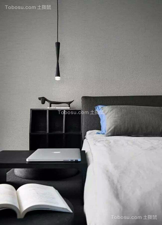 卧室白色细节现代简约风格装潢设计图片
