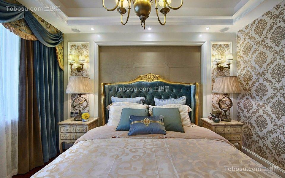 儿童房彩色窗帘混搭风格装饰效果图
