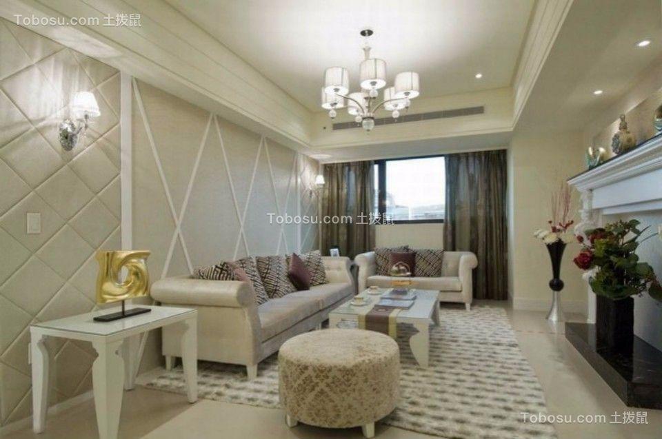 中庚红鼎天下四室两厅现代简约120装修效果图