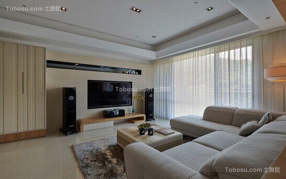 110平三居室日式风格装修效果图