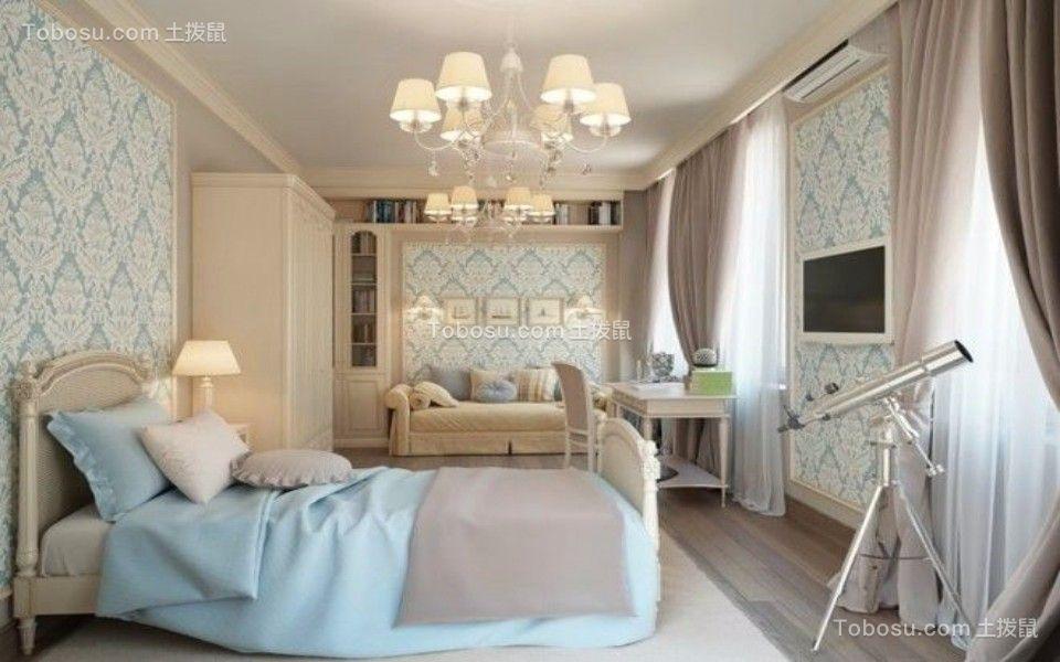 同景国际180㎡古典欧式风格四室二厅二卫装修效果图