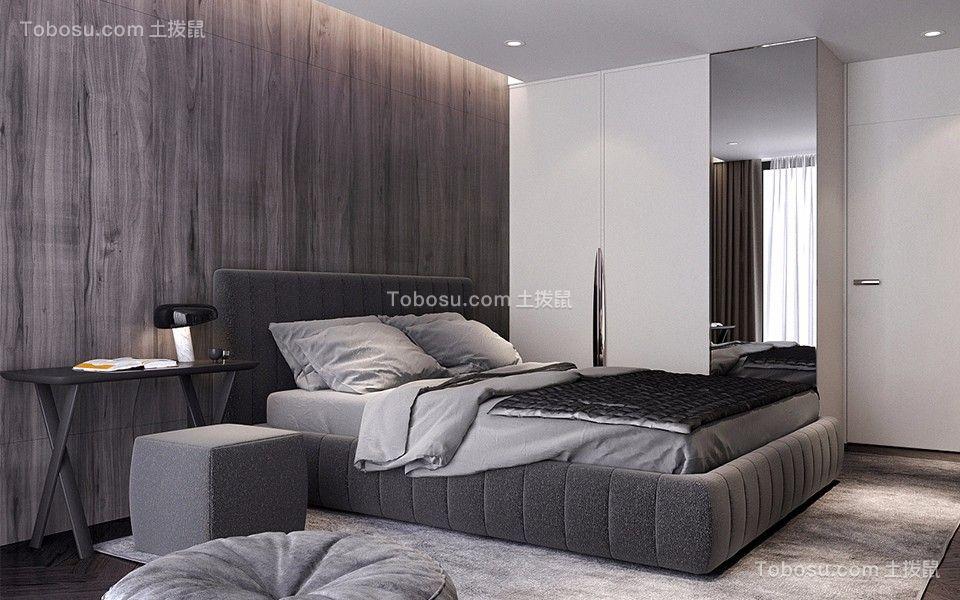 金泰丽湾60平米现代简约一居室装修效果图
