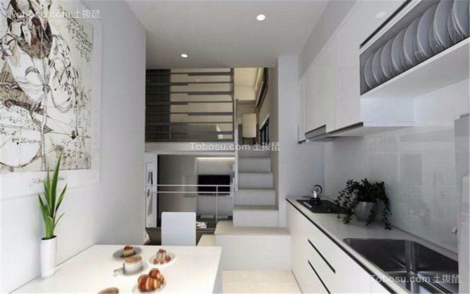 融创凡尔赛98㎡现代风格3室2厅2卫装修效果图