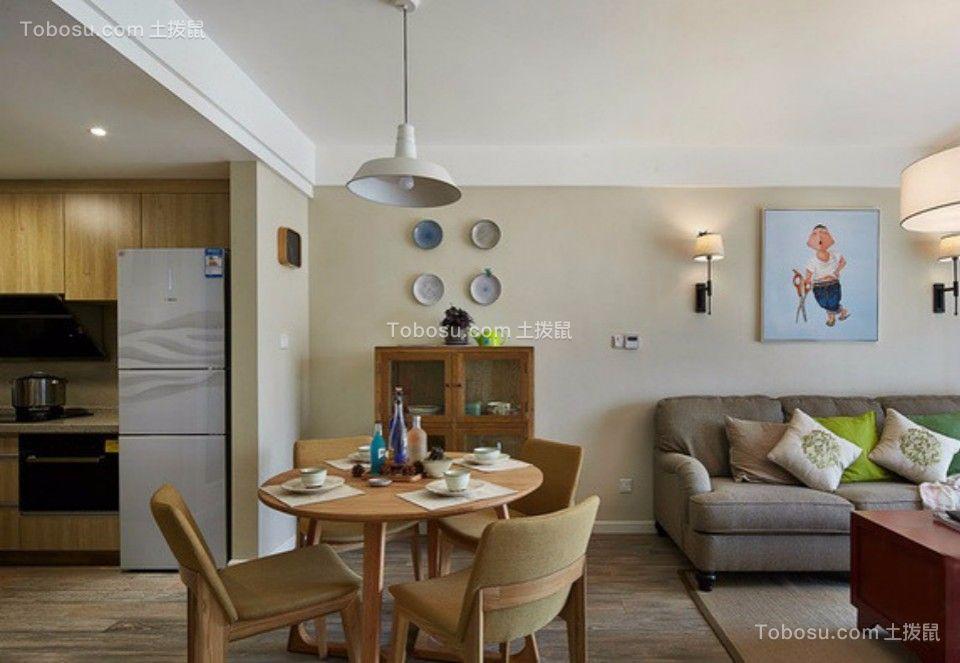 餐厅 餐桌_武夷嘉园一室一厅60平混搭装修效果图