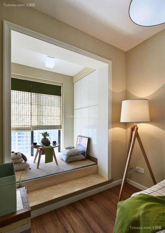 卧室 飘窗_武夷嘉园一室一厅60平混搭装修效果图