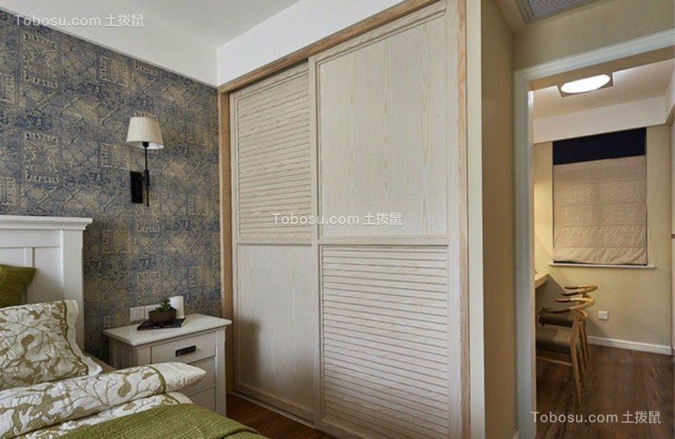 卧室 衣柜_武夷嘉园一室一厅60平混搭装修效果图