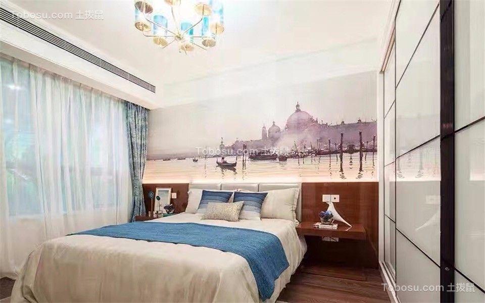 卧室 细节_卓越城132平北欧风格三居室装修效果图