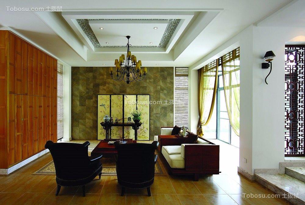 融汇山水别墅中式风格装修效果图