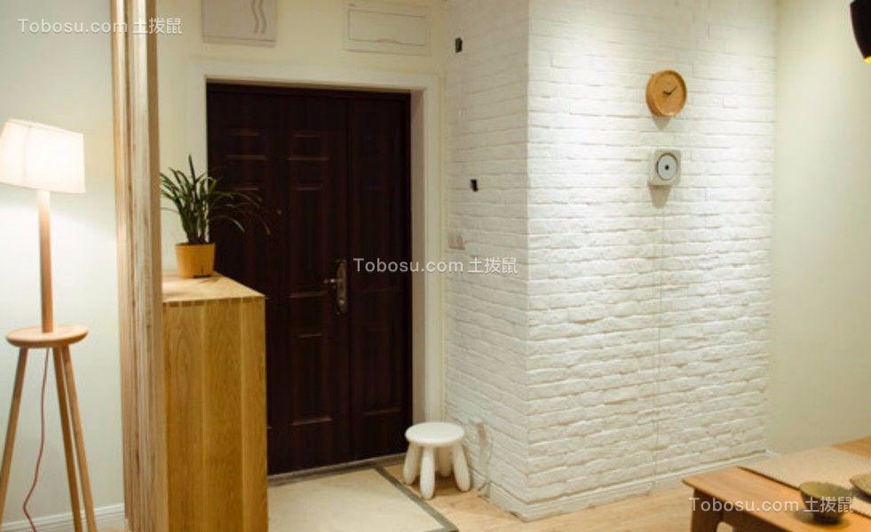 上海新苑两室一厅80平混搭风格装修效果图
