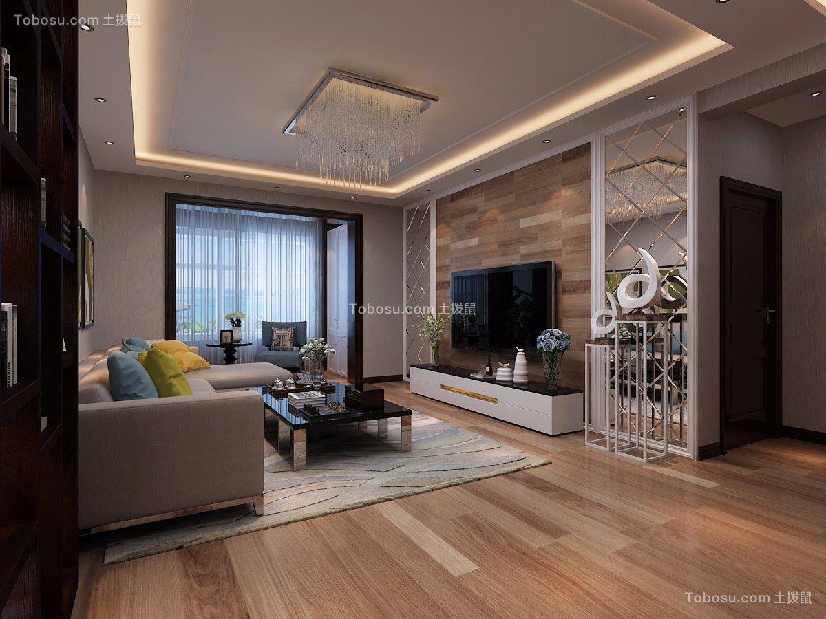 太原太原公园伍号140平米现代简约风格效果图