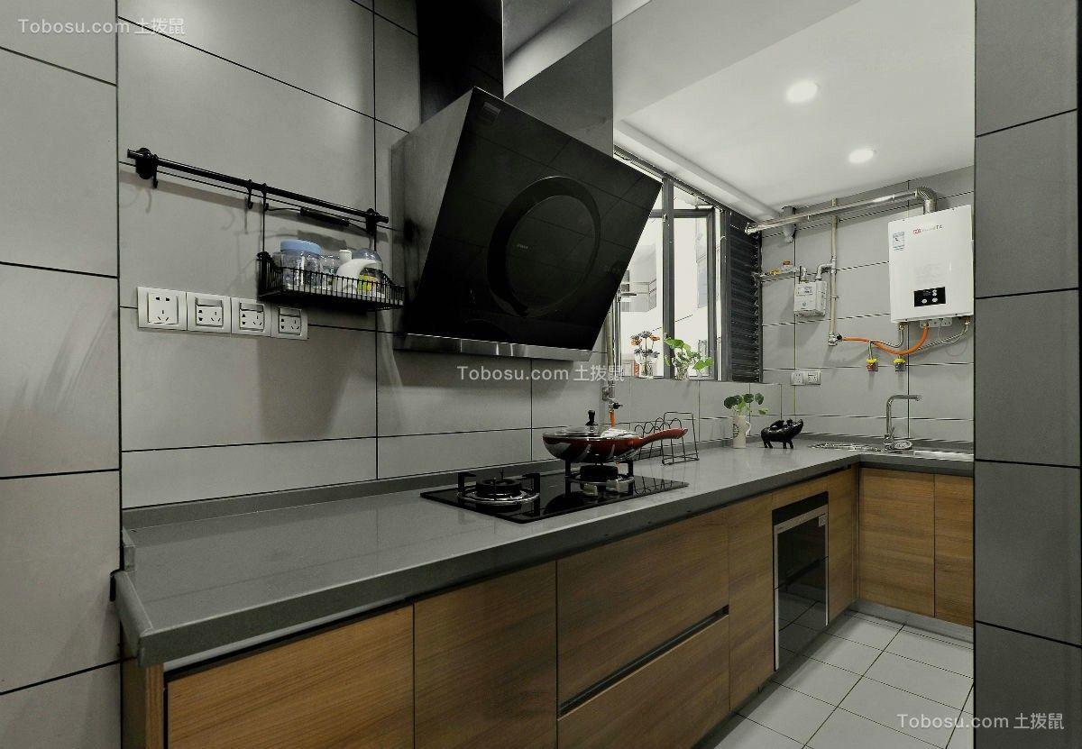 厨房米色细节现代简约风格装饰设计图片