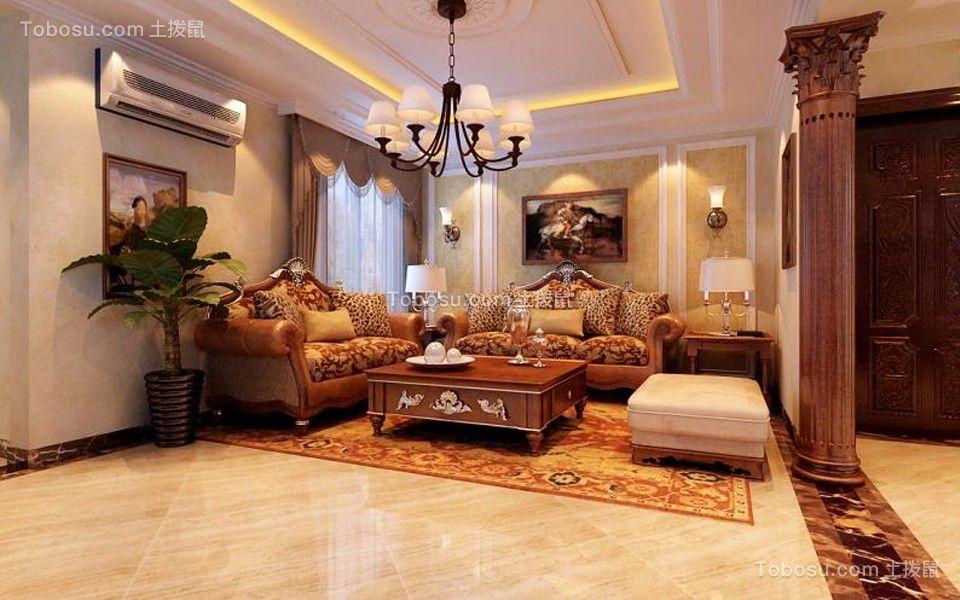 120~180㎡/欧式/三居室装修设计