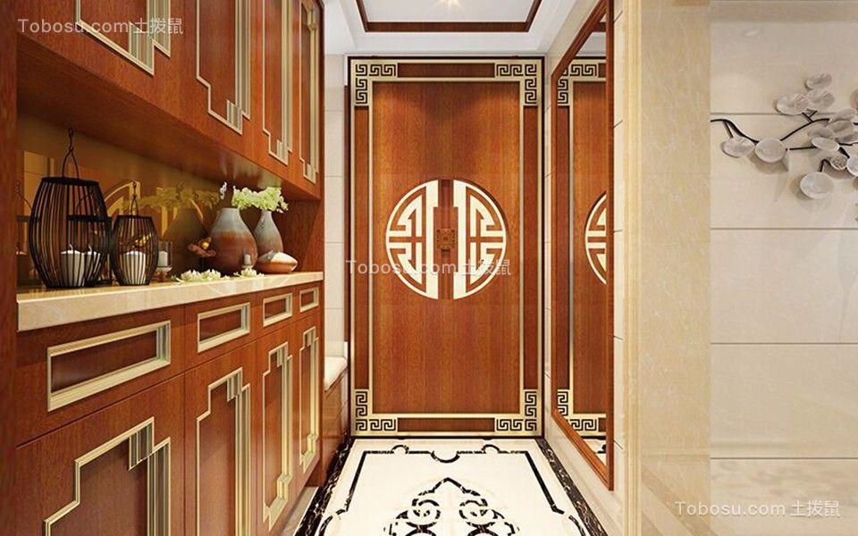珑禧120平中式风格四居室装修效果图