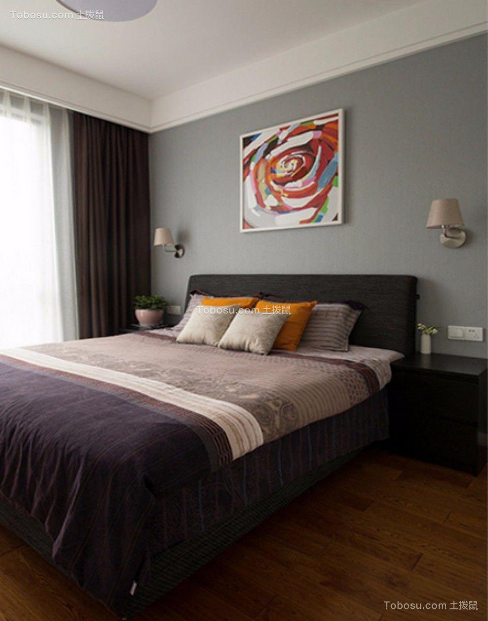 金帝意境89平米现代简约风格二居室装修效果图图片