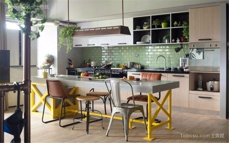 餐厅 餐桌_汉飞滨江国际116平北欧风格三居装修效果图