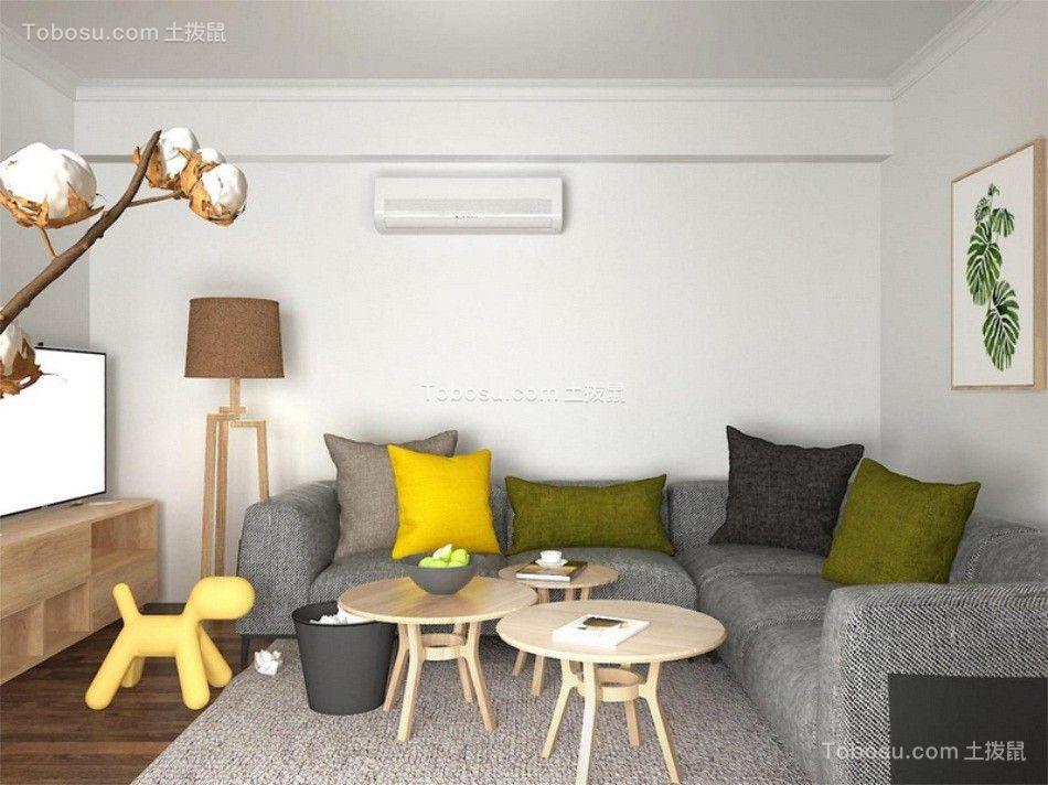 中庚香山天地103平米日式风格套房装修效果图