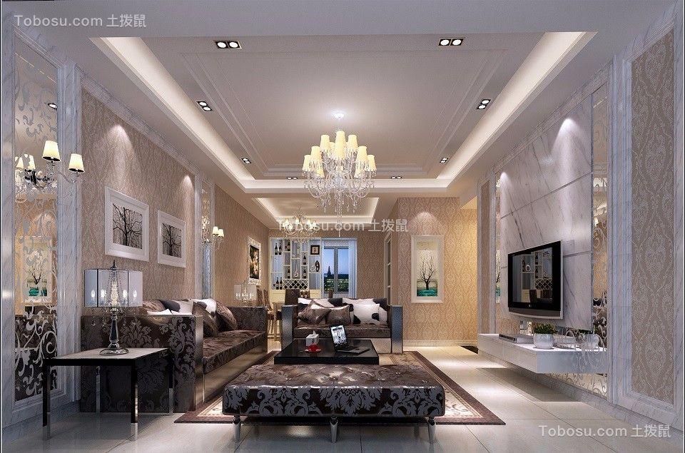 大东城现代风格140平米四居室装修效果图