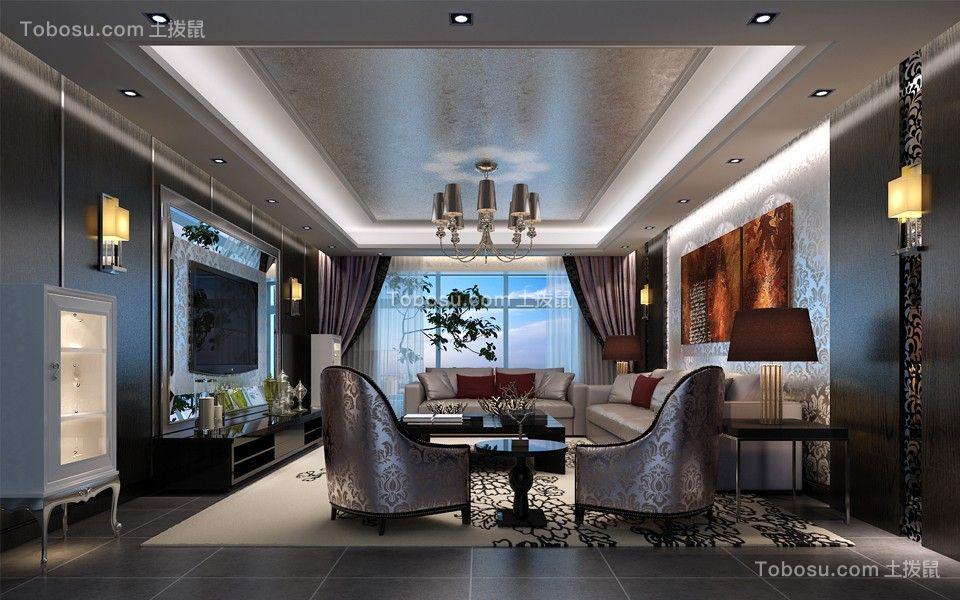 富力城B区210平米简欧风格效果图