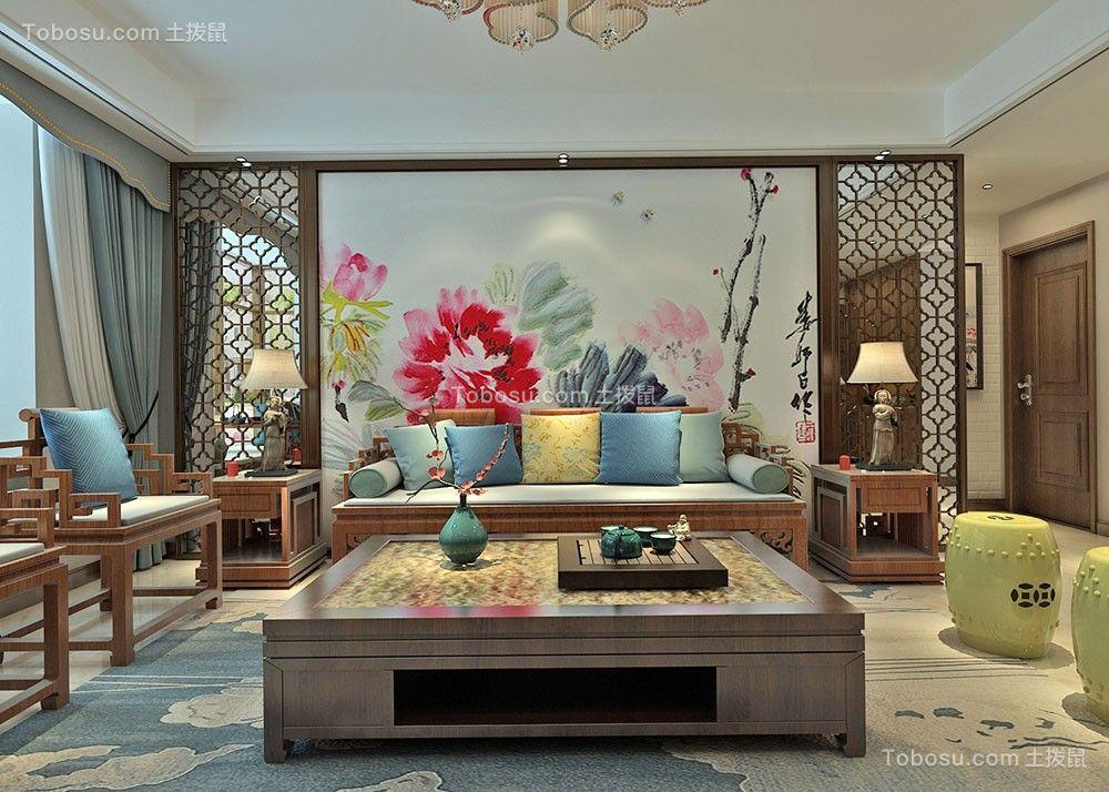 120~180㎡/中式/三居室装修设计