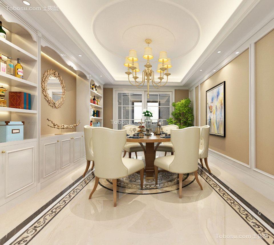 龙湖原山240平方米简美风格四居室装修效果图