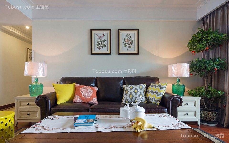 银河湾第1城138平欧式风格三居室装修效果图