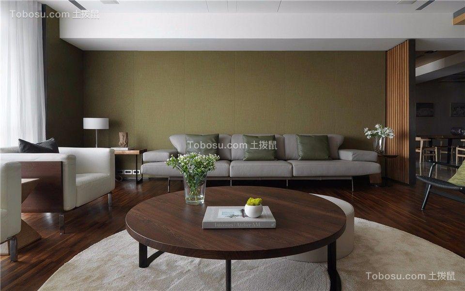升龙天汇136平现代风格三室两厅两卫装修效果图