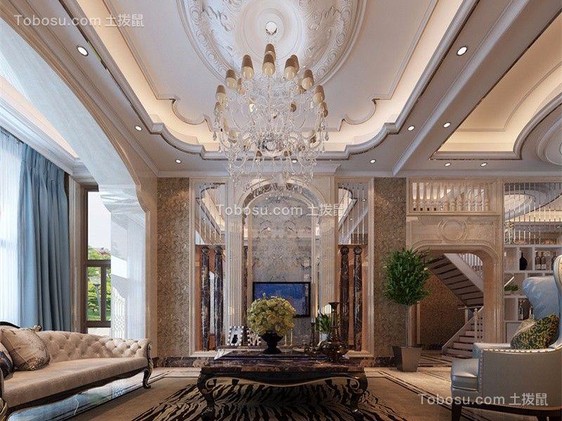 雅居乐花园180平米现代简约风格三居室装修效果图