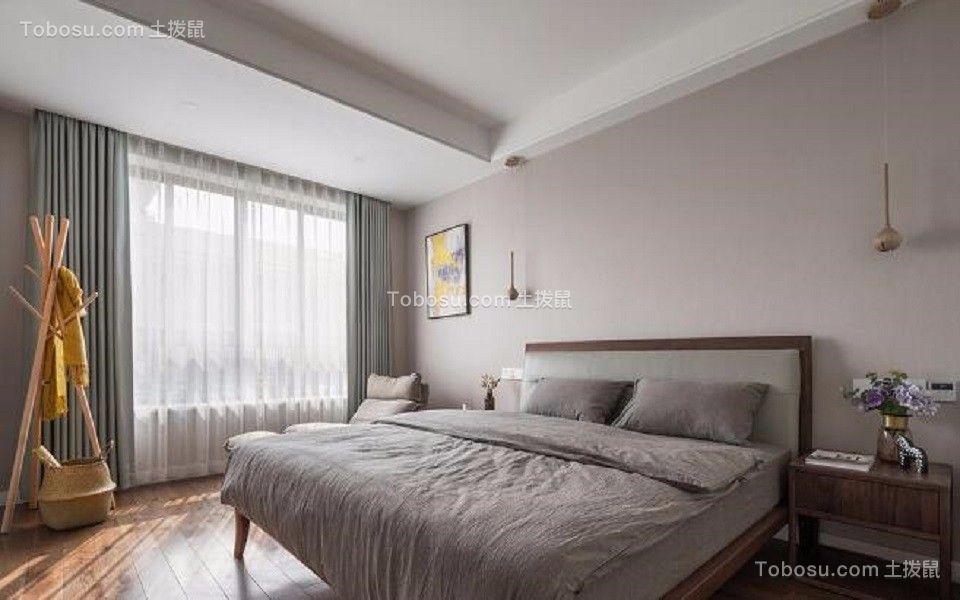 卧室白色窗台现代风格装修图片